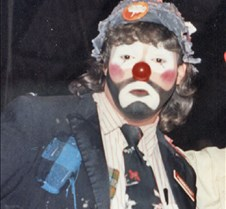 doug jr as a clown