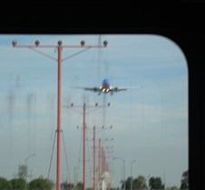 Southwest 737 on Approach
