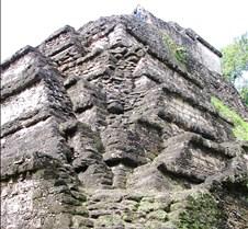 layered construction at Tikal