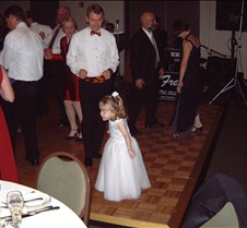 Caitlin and Bryce dancing