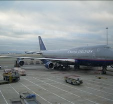 UA 747 at SFO Gate 80