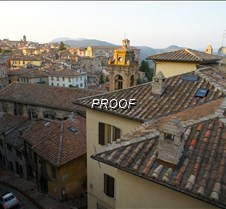 Perugia, Italy Rooftops