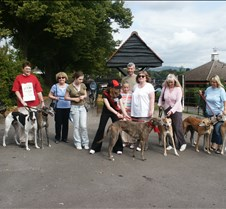 Rescued Racers Sponsered Walk 10 times around the lake at Roath Park
