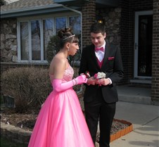April 28, 2013 Andy and Emily - Prom