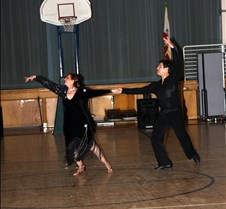 Kipp Duran & Thelma Korpman Valentine Dance Feb 2009 Dance Instructor Kipp Durran & Thelma Corpsman perform at the USA Dance, IE Chapter, Valentine Dance at the Patton Auditorium, February 8, 2009.