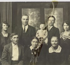 James Joseph Juchau, 5 generations
