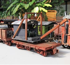 Rolling Stock on Ed Johnson's Table