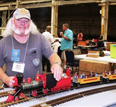 Gary Whaley & His Baldwin 4-4-0 SPC #9