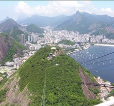 Pão de Açúcar - Looking back at Morro da