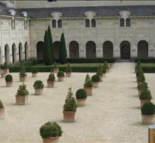 Abbaye le Fontevraud - Pot Garden