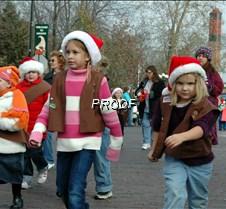Brownies marching