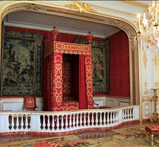 Louis XIV Ceremonial Bedroom At Chambord