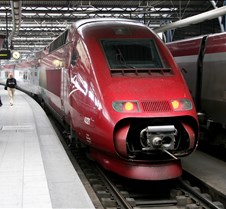 High Speed Train from Brussels to Paris