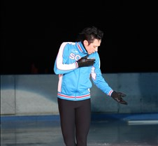 Johnny Weir - warm up warm up shots of Johnny Weir