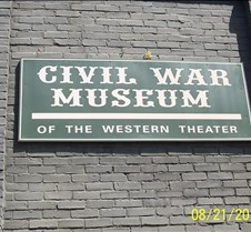 Civil War Museum of the Western Theater Anyone who loves history would enjoy visiting Bardstown, KY. Many historical sights and several museums. This album is just a fraction of what is in this museum.