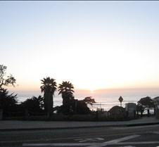 Sun Set in San Deigo Beach