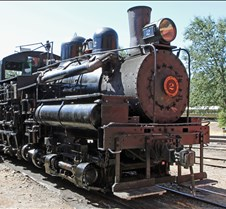 Sierra Railway #2 3-Truck Shay