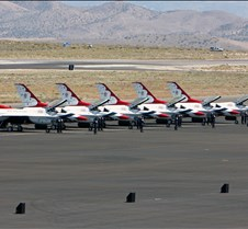 USAF Thunderbirds On The Tarmac