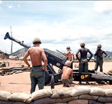 Vietnam, Military, US Army Artillary