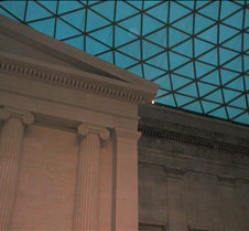 roof within the British Museum