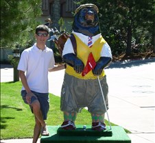 Golf Bear with Josh