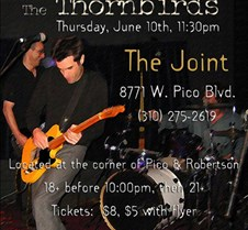 2004-06-10 Thornbirds @ LA Joint The Thornbirds rocked this nice little club in LA called The Joint.  Despite the late mid-week show, it was great to hear them perform a variety of songs mixed in with a few laughs.
