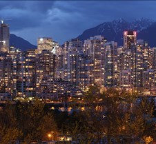 Vancouver Dusk Panorama