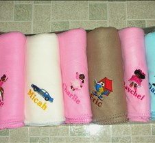 Personalized Gift Throws
