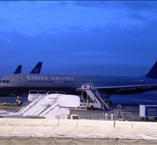 UA 757 at SJC