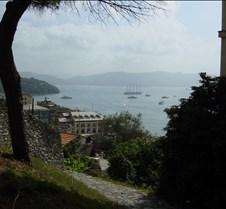 Portovenere - walking down from castle