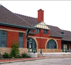 Buildings - Anderson Street Railway Building In Anderson Indiana