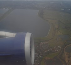 BA 554 - London after Takeoff
