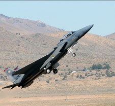 F-15 Eagle during takeoff