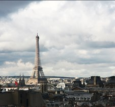 Eiffel Tower From The Pompidou Center