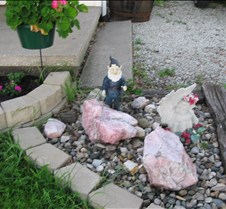 Gnorm the gnome guardsthe garden!!