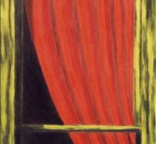 Red Drape I
