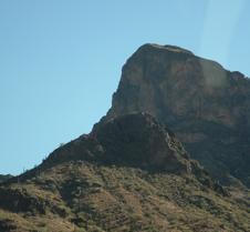 Tucson Highway scenery 7
