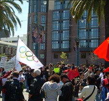 Olympic & Chinese Flag
