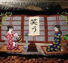 japanese tea ceremony pillow