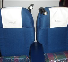 LAN 622 - Business Class Seats