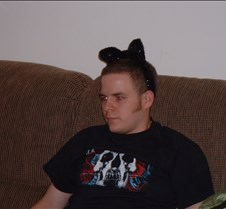 George with Kitty Ears