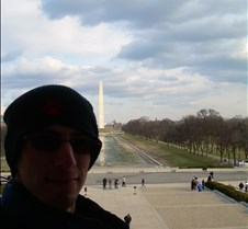 Josh & Washington Monument