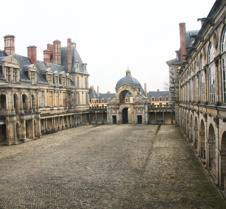 Chateau de Fontainebleau Courtyard