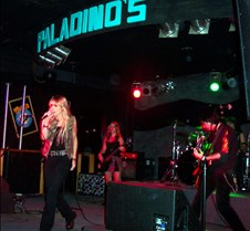 2003-11-15 Hottie Knockers @ Paladinos Coreen made her long awaited return to the band, sounding as good as ever!  The band also looked very good and they covered a great musical spectrum, completely surprising me with some really rocking songs by Janet Jackson and No Doubt.  They also covered