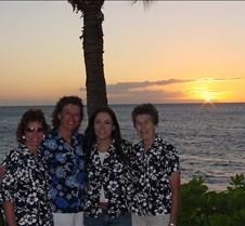 Carmen,Laura,Whitney and Barbara at Suns