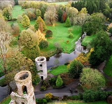 the top of Blarney Castle