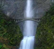 Travel ,Bridge over the waterfall - Wate
