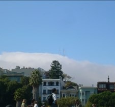 Sutro Tower in the Clouds