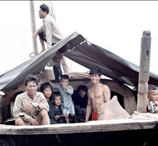 Family Aboard Fishing Boat