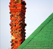 662467-4-red-chimney-and-green-shingles